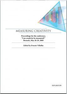 Measuring Creativity Consulenze Irene Tinagli